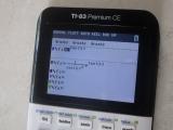 TI-83PCE + SymbolicDerivative