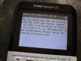 TI-83 Premium CE + Pipotron
