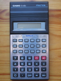 Casio fx-82D Fraction