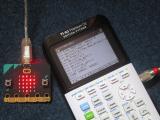 TI-83 Premium CE + micro:bit v2