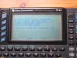 TI-92 Engineering Sample 0695