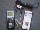 Mesure intensité TI-84 Plus