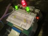 Modded Nspire Nav v2 + GPIO LEDs