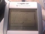 Nspire CAS+ -> Nspire Prizm+