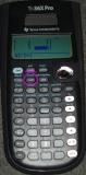 TI-36X Pro - écran matrices