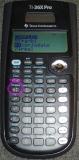 TI-36X Pro - menu complexes