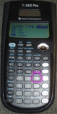 TI-36X Pro - menu logique