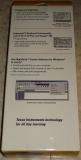 Emballage TI-Keyboard - dos