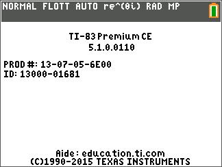 TI-Planet | Release OS 5 1 - TI-83 Premium CE + TI-84 Plus