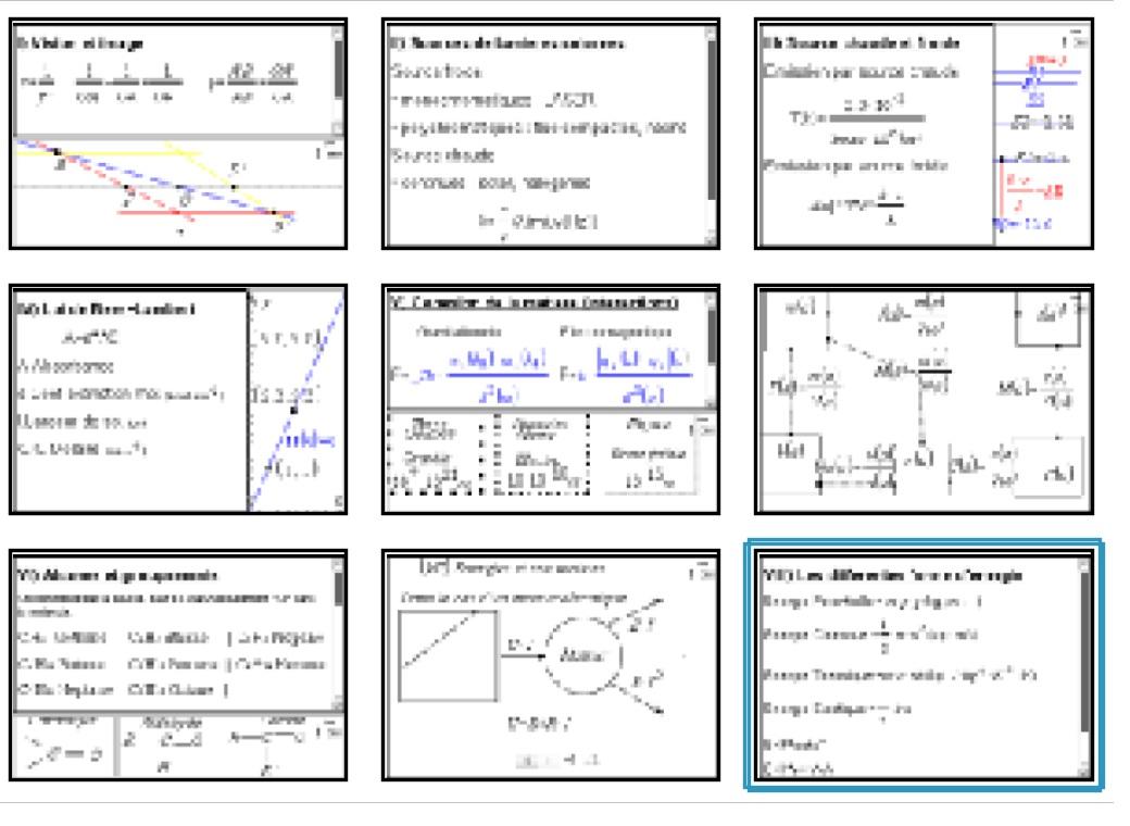 TI-Planet | Cours Physique Chimie 1ere (programme Cours et Formulaires Nspire)
