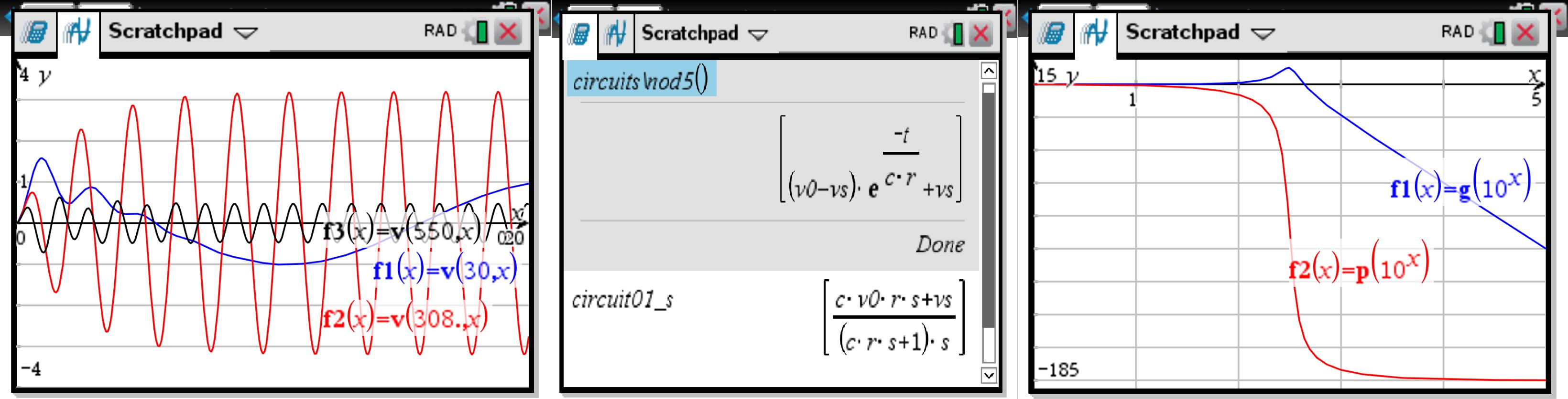 TI-Planet | Circuit solver (+bode) for Ti Nspire CX CAS